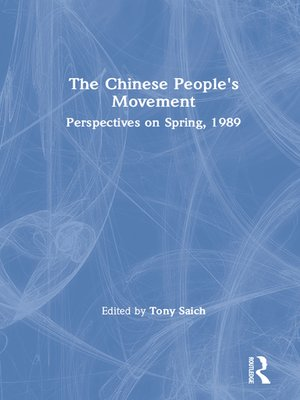cover image of The Chinese People's Movement