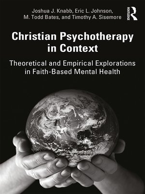 cover image of Christian Psychotherapy in Context