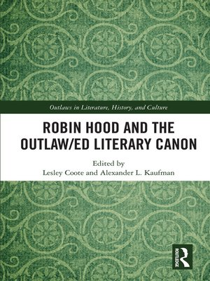 cover image of Robin Hood and the Outlaw/ed Literary Canon