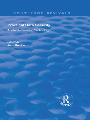 cover image of Practical Data Security