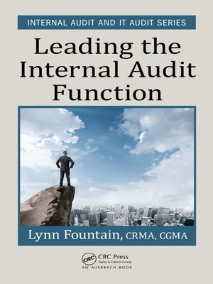 cover image of Leading the Internal Audit Function