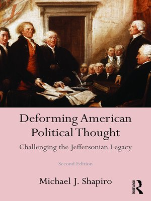 cover image of Deforming American Political Thought