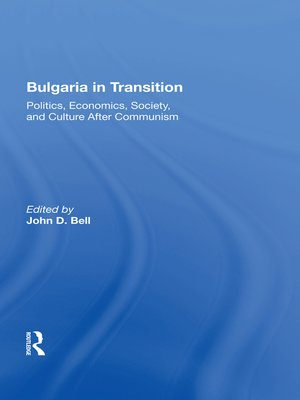 cover image of Bulgaria In Transition