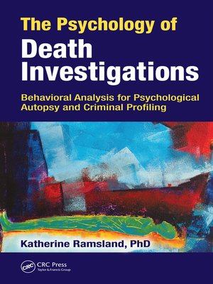 cover image of The Psychology of Death Investigations