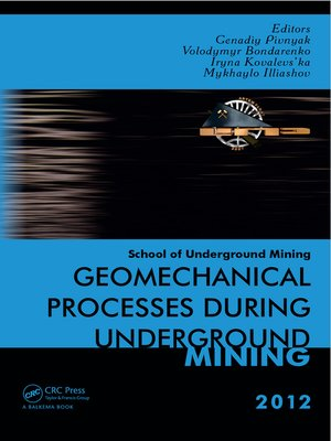 cover image of Geomechanical Processes during Underground Mining