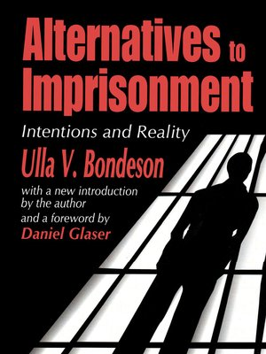 cover image of Alternatives to Imprisonment