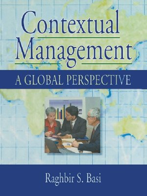cover image of Contextual Management