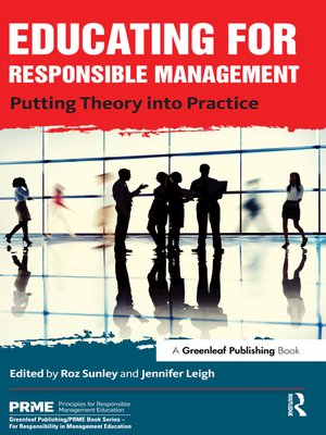 cover image of Educating for Responsible Management