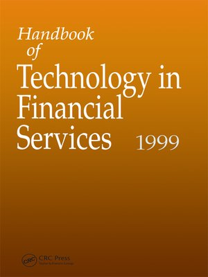 cover image of Handbook of Technology in Financial Services