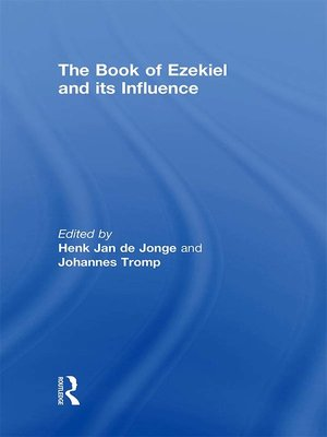 cover image of The Book of Ezekiel and its Influence