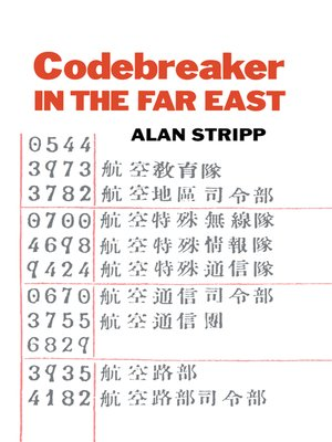 cover image of Codebreaker in the Far East