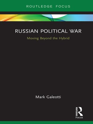 cover image of Russian Political War