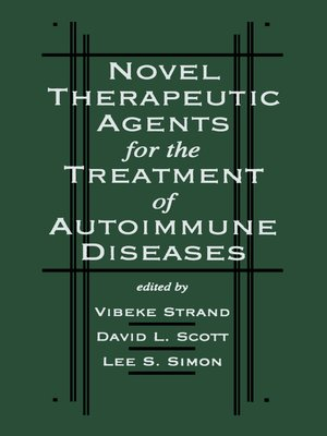 cover image of Novel Therapeutic Agents for the Treatment of Autoimmune Diseases