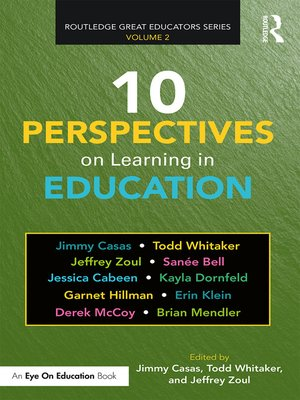 cover image of 10 Perspectives on Learning in Education