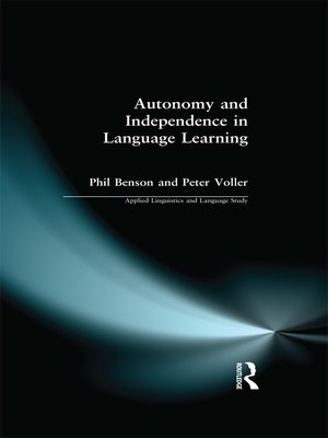 cover image of Autonomy and Independence in Language Learning