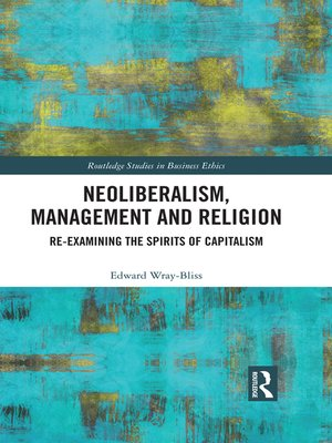 cover image of Neoliberalism, Management and Religion