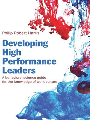 cover image of Developing High Performance Leaders