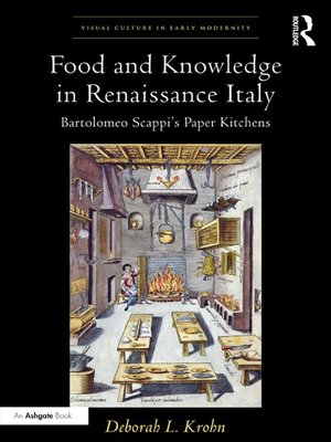 cover image of Food and Knowledge in Renaissance Italy