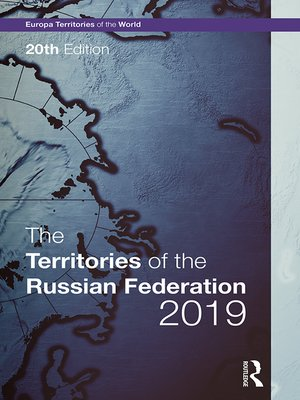 cover image of The Territories of the Russian Federation 2019