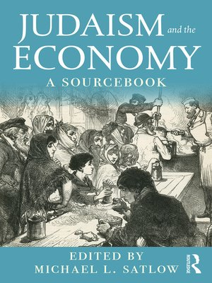 cover image of Judaism and the Economy