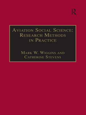 cover image of Aviation Social Science