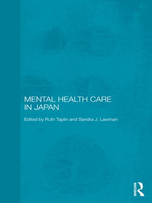 cover image of Mental Health Care in Japan