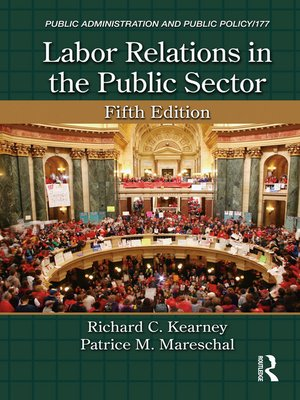 cover image of Labor Relations in the Public Sector
