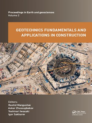 cover image of Geotechnics Fundamentals and Applications in Construction