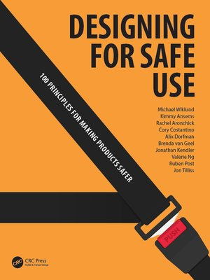 cover image of Designing for Safe Use