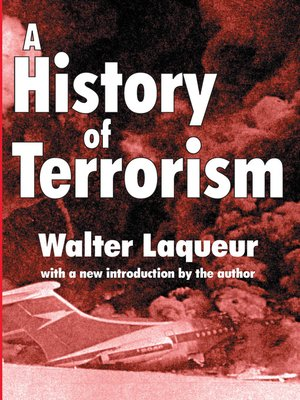 cover image of A History of Terrorism