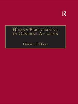 cover image of Human Performance in General Aviation
