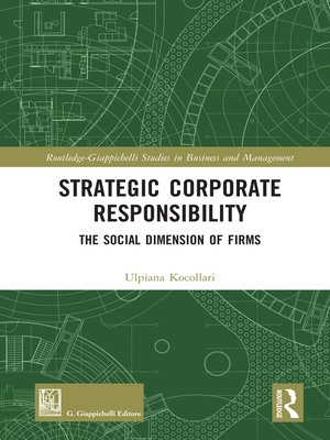 cover image of Strategic Corporate Responsibility