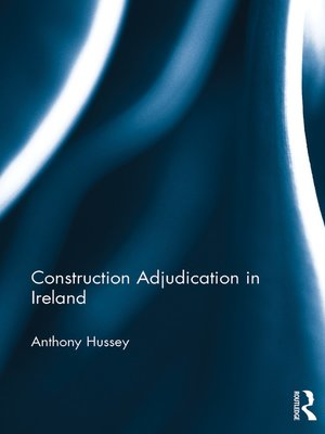 cover image of Construction Adjudication in Ireland