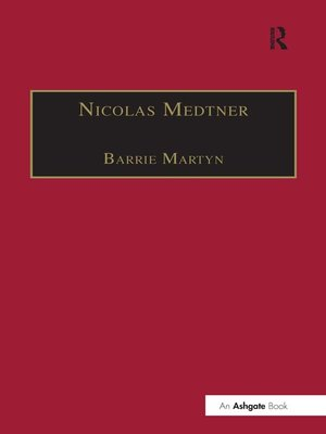 cover image of Nicolas Medtner