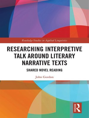 cover image of Researching Interpretive Talk Around Literary Narrative Texts
