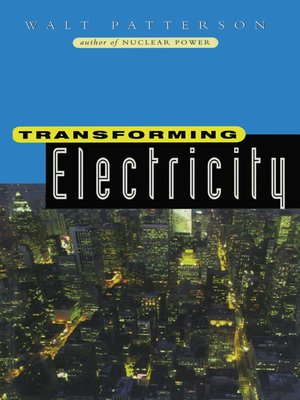 cover image of Transforming Electricity