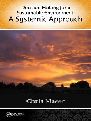 cover image of Decision-Making for a Sustainable Environment