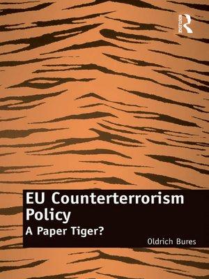 cover image of EU Counterterrorism Policy