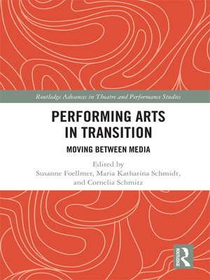cover image of Performing Arts in Transition