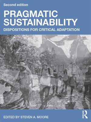cover image of Pragmatic Sustainability