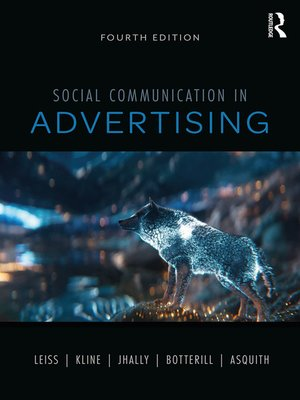 cover image of Social Communication in Advertising