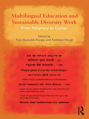 cover image of Multilingual Education and Sustainable Diversity Work
