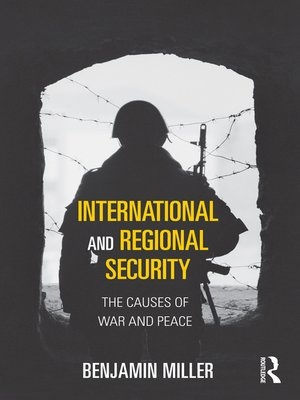 cover image of International and Regional Security