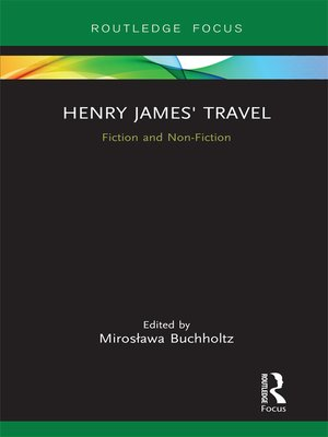 cover image of Henry James' Travel