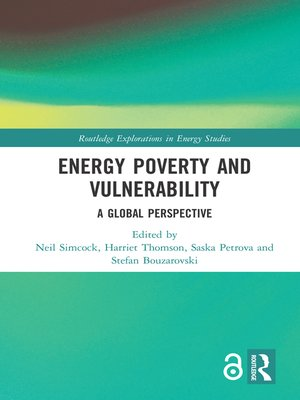 cover image of Energy Poverty and Vulnerability