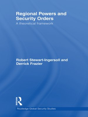 cover image of Regional Powers and Security Orders