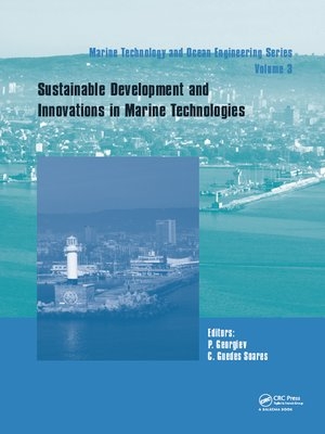 cover image of Sustainable Development and Innovations in Marine Technologies