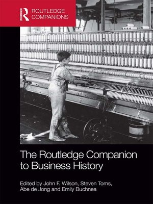 cover image of The Routledge Companion to Business History
