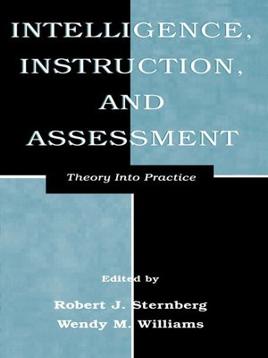 cover image of Intelligence, Instruction, and Assessment