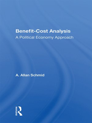 cover image of Benefit-cost Analysis